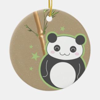 Cartoon Panda Ceramic Ornament