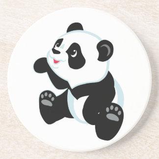 cartoon panda coaster