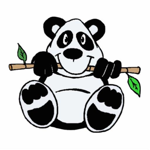 Cartoon Panda Cutout