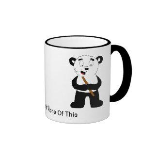 Cartoon Panda Eating Bamboo Mug