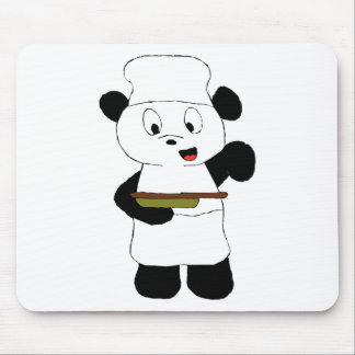 Cartoon Panda Emeril Lagasse Fan Mouse Pad