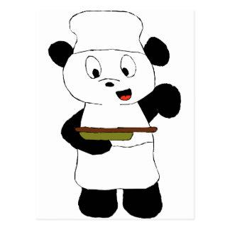 Cartoon Panda Emeril Lagasse Fan Post Card