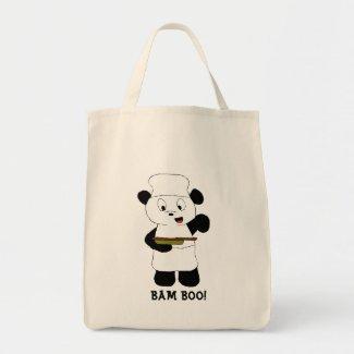Cartoon Panda Emeril Lagasse Fan Tote Bag