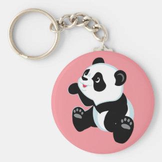 cartoon panda keychains