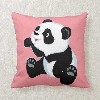 cartoon panda pillow