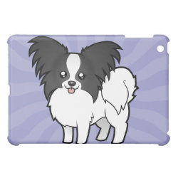 Cartoon Papillon iPad Mini Case