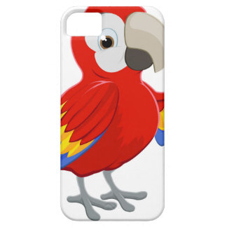 Cartoon Parrot Pointing iPhone SE/5/5s Case