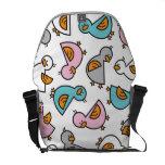 Cartoon Pastels Duckies Ducks Whimsical Cute Bag Messenger Bag