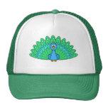 Cartoon Peacock Trucker Hat