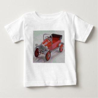 Cartoon Pedal Car Baby T-Shirt