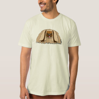 Cartoon Pekingese Dog T-Shirt