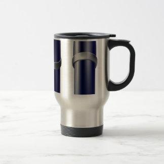 Cartoon pen icon coffee mug