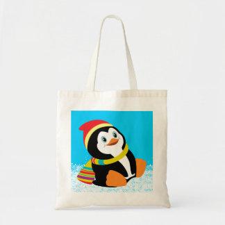 cartoon penguin bags