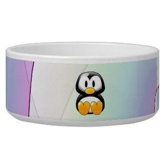 Cartoon Penguin Bowl