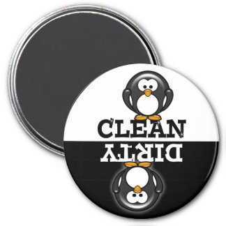 Cartoon Penguin Dishwasher Magnet