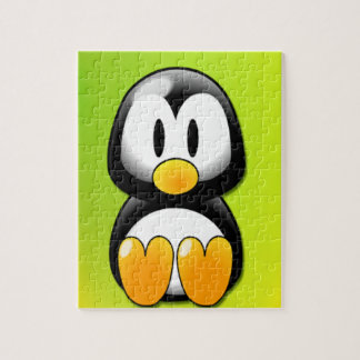 Cartoon Penguin Jigsaw Puzzle
