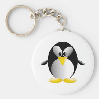 Cartoon Penguin Keychain