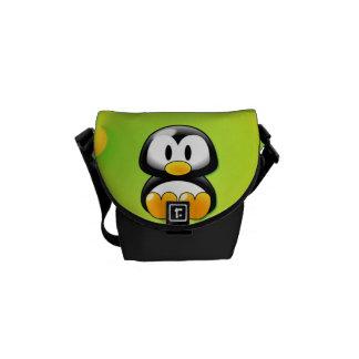 Cartoon Penguin Messenger Bag