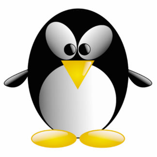 Cartoon Penguin Photo Cut Outs