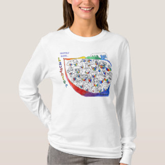 Cartoon People Laughing Funny T-Shirt