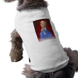 cartoon period man portrait1 doggie tshirt