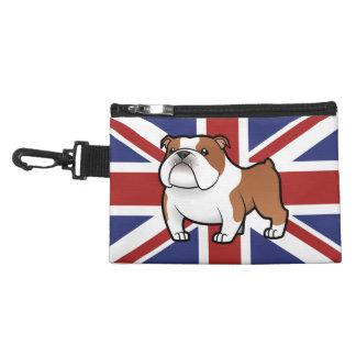 Cartoon Pet with Flag Accessory Bag