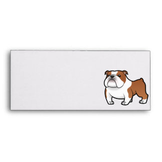 Cartoon Pet with Flag Envelope