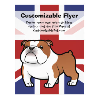 Cartoon Pet with Flag Flyer