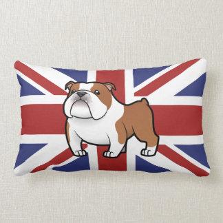 Cartoon Pet with Flag Lumbar Pillow