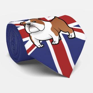 Cartoon Pet with Flag Tie
