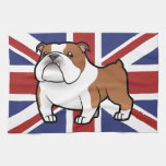 Cartoon Pet with Flag Towels