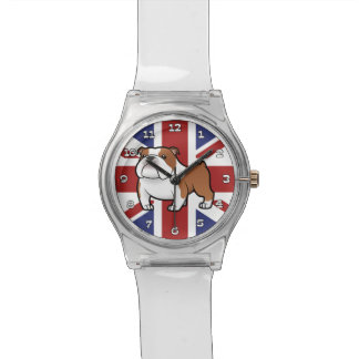 Cartoon Pet with Flag Watch