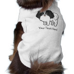Cartoon Phalene / Japanese Chin Pet T Shirt