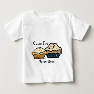 Cartoon Pies for Pie Day January 23rd Baby T-Shirt