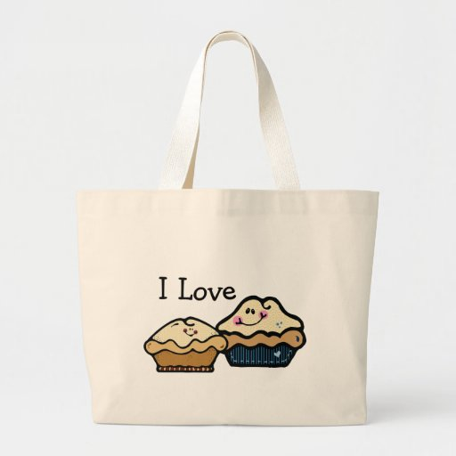 Cartoon Pies for Pie Day January 23rd Jumbo Tote Bag