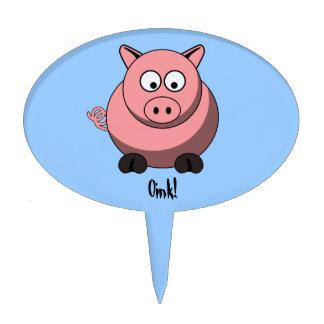 Cartoon Pig Cake Pick