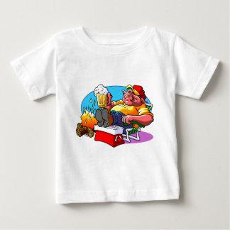 Cartoon Pig Roast Baby T-Shirt