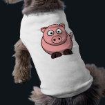 """Cartoon Pig Shirt<br><div class=""""desc"""">Cartoon Pig on T-Shirts,  Travel Mugs and More!</div>"""