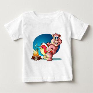 Cartoon Piglet Baby T-Shirt