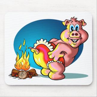 Cartoon Piglet Mouse Pad