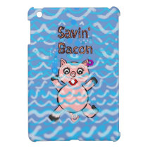 Cartoon Pigs iPad Mini Cover
