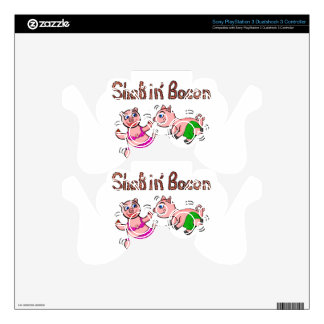 Cartoon Pigs Skins For PS3 Controllers