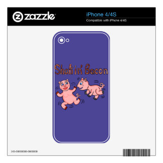 Cartoon Pigs Skins For The iPhone 4S