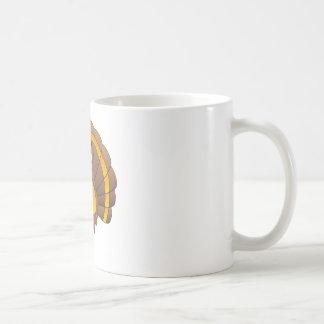 Cartoon Pilgrim Turkey Coffee Mug