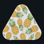 """Cartoon Pineapple Pattern Bluetooth Speaker<br><div class=""""desc"""">Vector seamless background with pineapples on a white background. &#169; and &#174; Bigstock&#174; - All Rights Reserved.</div>"""
