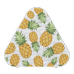 Cartoon Pineapple Pattern Bluetooth Speaker<br><div class='desc'>Vector seamless background with pineapples on a white background. &#169; and &#174; Bigstock&#174; - All Rights Reserved.</div>