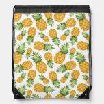 Cartoon Pineapple Pattern Drawstring Backpack