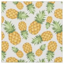 Cartoon Pineapple Pattern Fabric