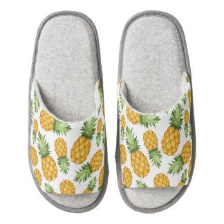 Cartoon Pineapple Pattern Pair Of Open Toe Slippers