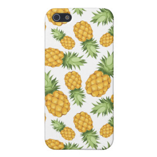 Cartoon Pineapple Pattern iPhone SE/5/5s Cover
